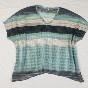 Cabi oversized blouse sz L